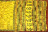 Chanderi Silk Saree with Zari Border and attached blouse for all-time use (41067B)