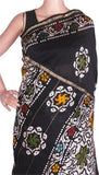 Chanderi Silk Saree pattern with Zari Border for all-time use (41093A), Sarees - Swadeshi Boutique
