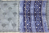 Chanderi Silk Saree pattern with Zari Border for all-time use (41094A)