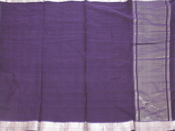 Mangalagiri Cotton Saree with Zari Border - 53003A  * New Arrival *, Sarees - Swadeshi Boutique