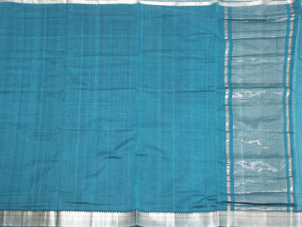 Mangalagiri Cotton Saree with Zari Border - 53007A  * New Arrival *, Sarees - Swadeshi Boutique