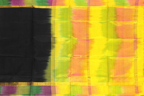 Kanchipuram Pure Silk cotton sarees with attractive pallu and Zari Border - (64044A)