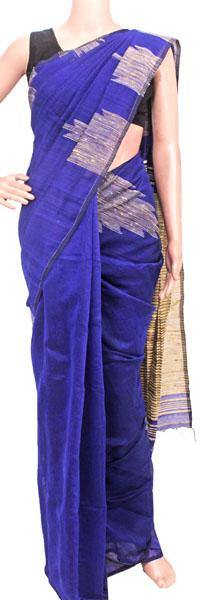 Silk Cotton saree with Sequence work - 68046A*New arrival! Rs.200 Off *, Sarees - Swadeshi Boutique