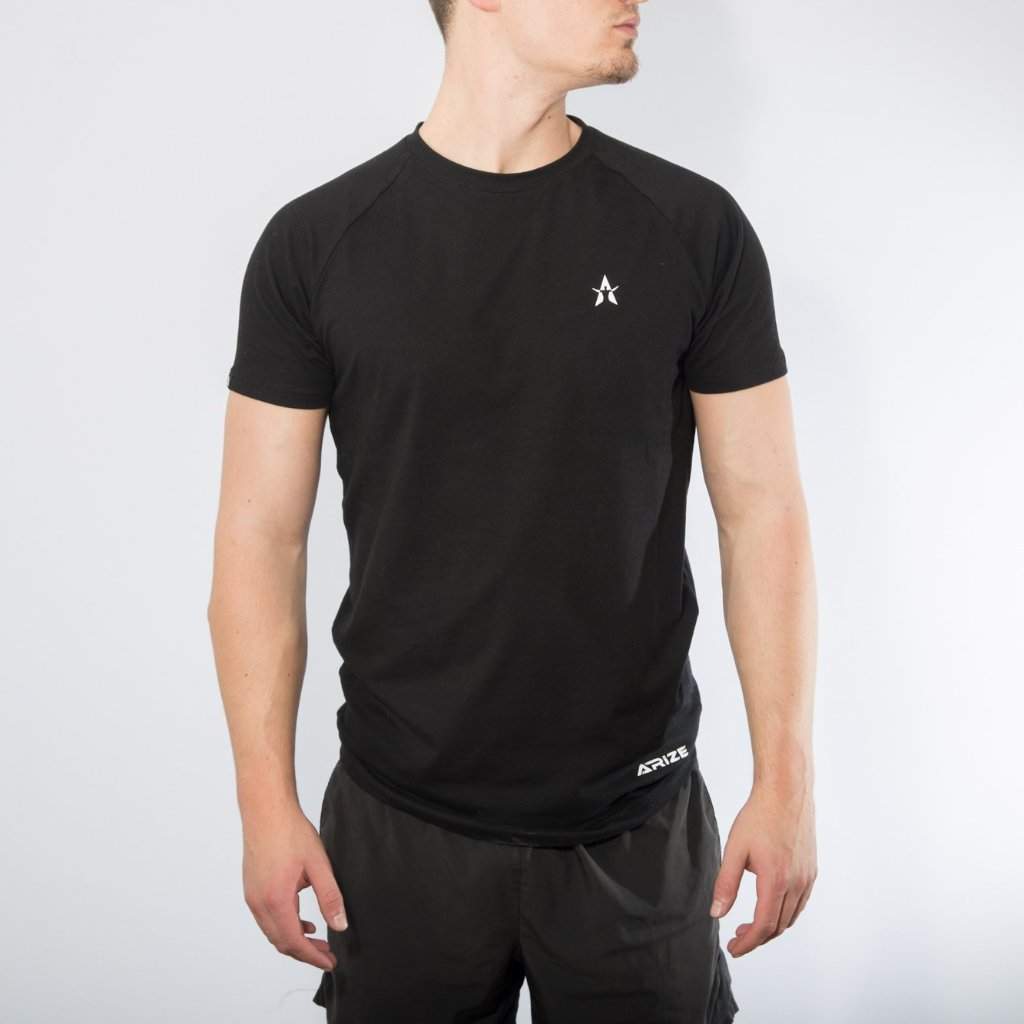 Core Lifestyle T-Shirt - Black - Arize Lifestyle