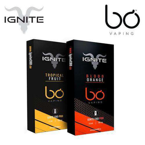 Bo Vaping 150mg Ignite CBD Replacement Pod 1.5ML - icbdoil.com