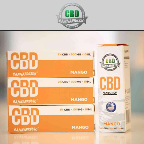 Cannapresso 1000mg CBD E-Liquid 30ML - icbdoil.com