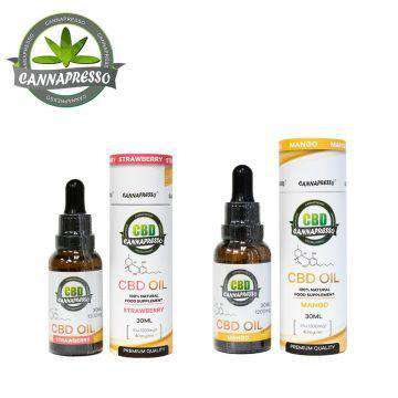 Cannapresso 1200mg CBD Oil Tincture 30ML - icbdoil.com