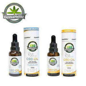 Cannapresso 750mg CBD Oil Tincture 30ML - icbdoil.com