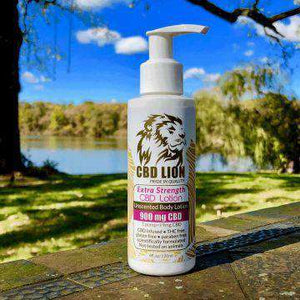 CBD Lion 900mg CBD Lotion 120ML - icbdoil.com