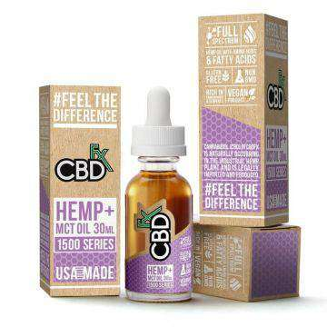 CBDfx 1500mg Full Spectrum CBD Hemp And MCT Oil Tincture 30ML - icbdoil.com