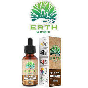 Erth 250mg Full Spectrum CBD Oil Extract Pet Drops 30ML - icbdoil.com