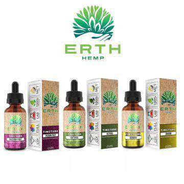 Erth Hemp 500mg CBD Hemp Oil Tincture 30ML - icbdoil.com