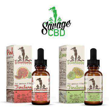 Essentials By Savage 1000mg Full Spectrum CBD Tincture 30ML - icbdoil.com