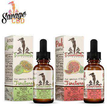 Essentials By Savage 1500mg Full Spectrum CBD Tincture 30ML - icbdoil.com