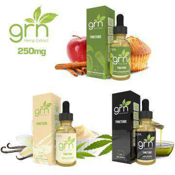 GRN CBD 250mg Full Spectrum CBD Tincture 30ML - icbdoil.com