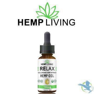 Hemp Living 100mg CBD Hemp Oil Tincture 30ML - icbdoil.com
