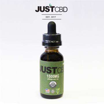 Just CBD 1500mg Hemp Seed Oil Tincture 30ML - icbdoil.com