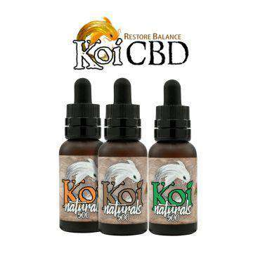 Koi Naturals 250mg Full Spectrum CBD Tincture 30ML - icbdoil.com