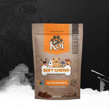 Koi Soft Chew CBD Dog Treats 2.5mg - 25 Treats - icbdoil.com