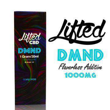 Lifted 1000mg DMND CBD Isolate Vape / Tincture Flavorless Additive 30ML - icbdoil.com