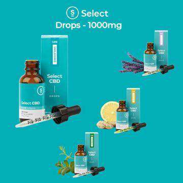 Select CBD 1000mg CBD Tincture Drops 30ML - icbdoil.com
