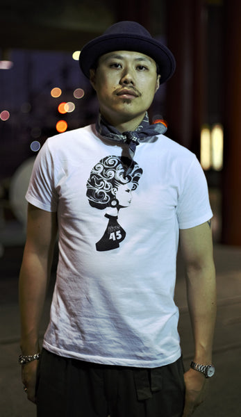 JIVE 45 SHORT SLEEVE WHITE T-SHIRT