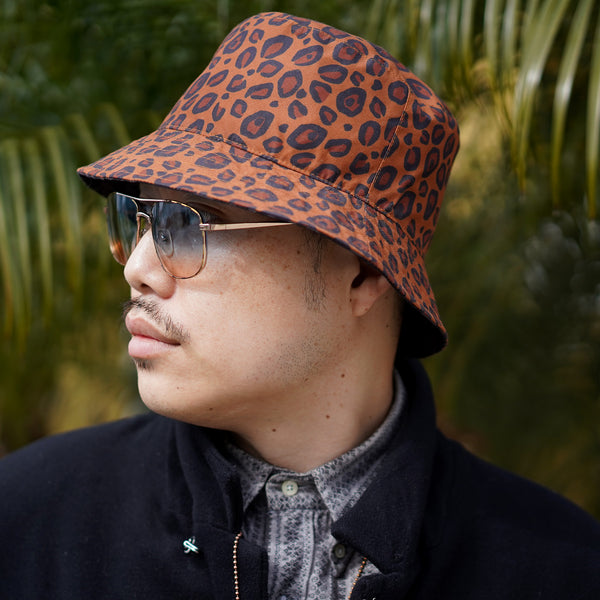 The Reversible Double Leopard Bucket Hat