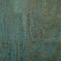 Ocean Blue Cork Fabric