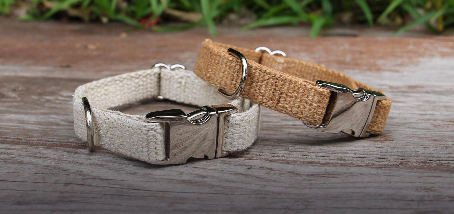 Just Hemp Dog Collars