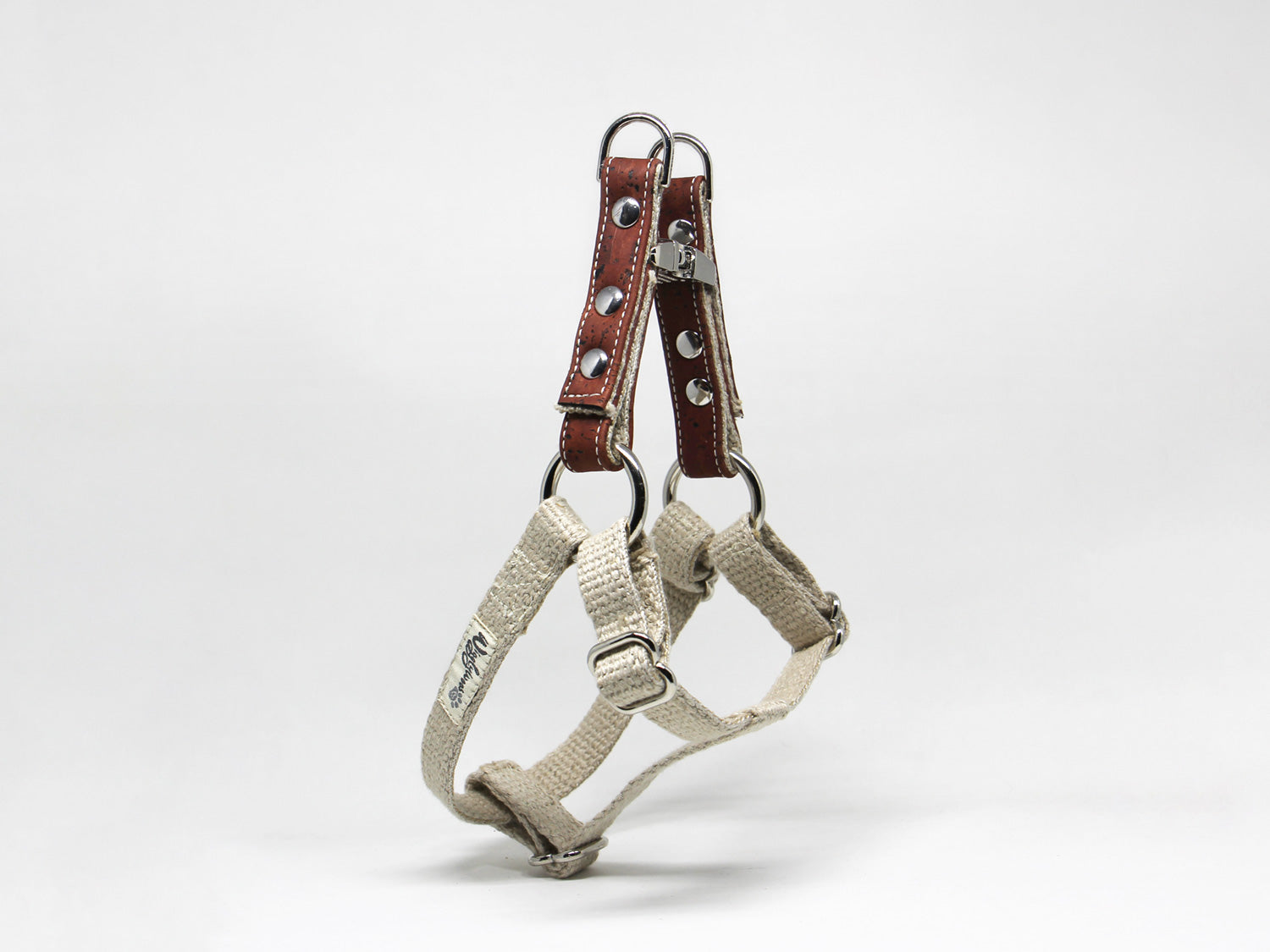 Sustainable Cork Adjustable Step-In Dog Harness