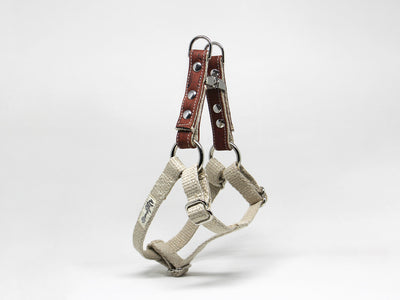 Cork Hemp Adjustable Step-In-Harness