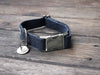 Just Hemp Nantucket Blue Dog Collar with Nickel Hardware