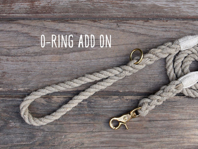 O-Ring add on for Rope Leash
