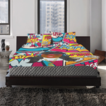 Tuned Out 2 3-Piece Bedding Set