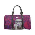 Plum Rose Travel Bag