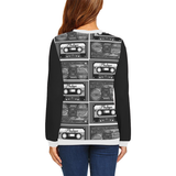 Black Casette Collection Sweatshirt