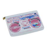 Blush BoomBox  Carry-All Pouch 12.5''x8.5''