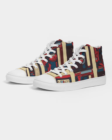 © Mixtapes Men's Hightop Canvas Shoe