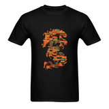 Kente Dragon Tees - Mens