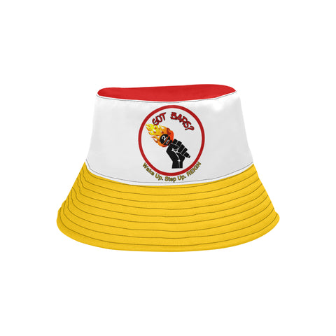 "Yellow CB ""Got Bars?"" Bucket Hat"