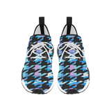 Blueberry Houndstooth Runners - shoes