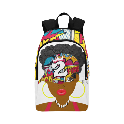 Cutie Pie Woke Print Backpack