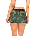 Camo Rose Shorts-Women