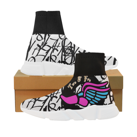 Fly Girl Mock Sock Shoes