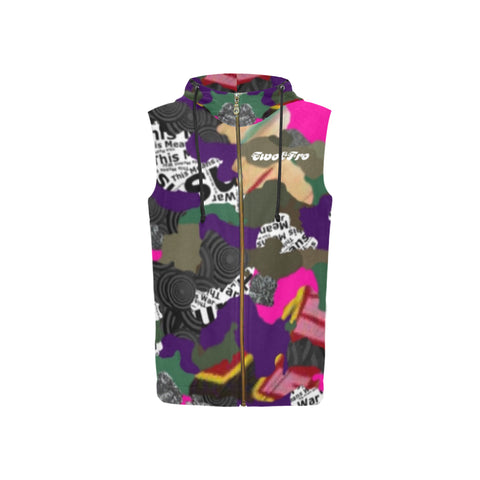 Fly Seal Camo Hoodie vest - 6 colors