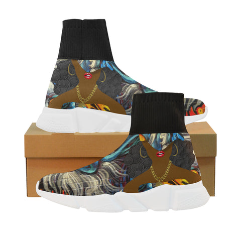 Fire and Ice sock sneakers : 5 colors/prints