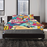 Mind Blown 3-Piece Bedding Set