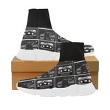 Grayscale Mixtape Mock Socks shoes - mens
