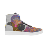 Gray Pinkcasso High Tops