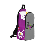 Dope Gray Violet Backpack